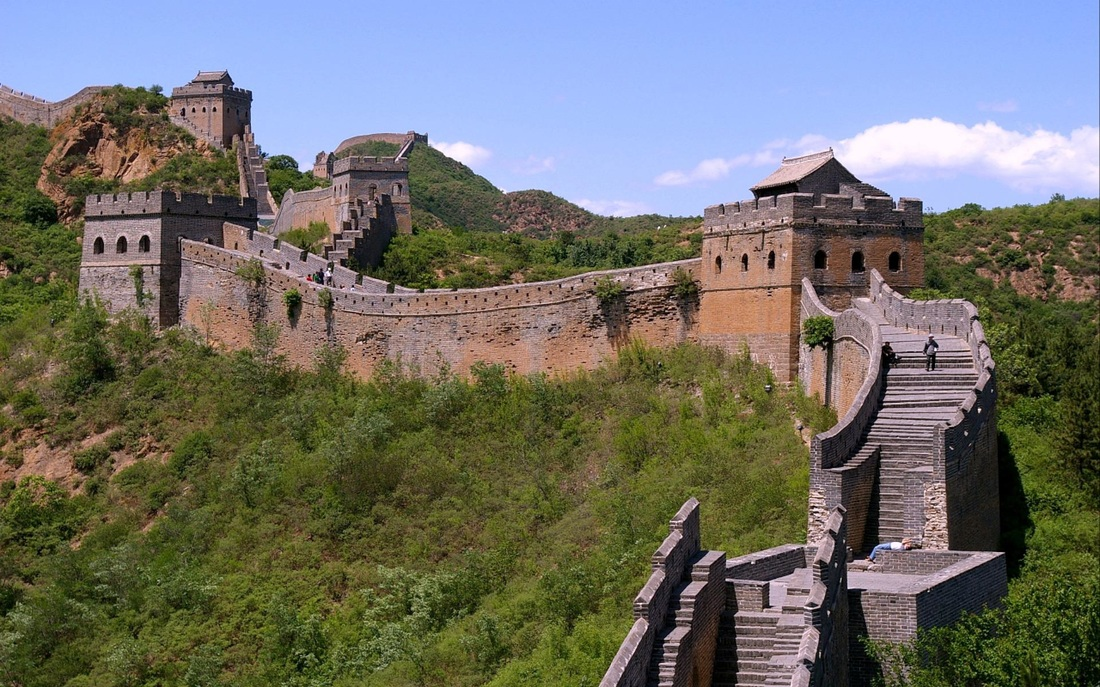 the construction of the great wall of china The authenticity of the setting of the great wall is vulnerable to construction of  inappropriate tourism facilities  great wall of china (travelchinaguidecom.